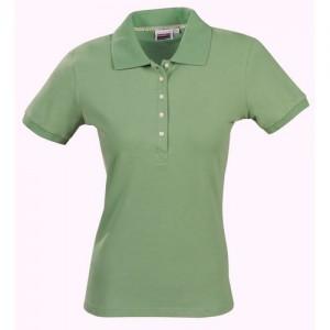 "Women's Polo ""Dagmar"" mineral green"