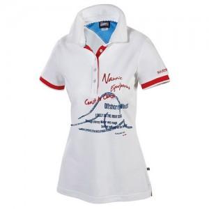 """Women's Polo """"Liane"""" white"""