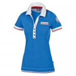 "Women's Polo ""Lokana"" blue"