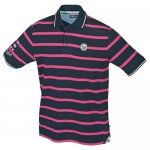 "Men's Polo ""Carl"" navy/pink"
