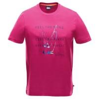 """Men's T-Shirt """"Icon"""" cerise"""