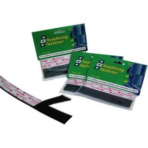 Headlining fastener 25mm x 125mm Black