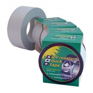Duck tape 50mm x 25m lt. gray with UV protection